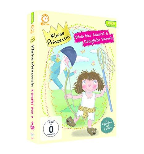 Kleine Prinzessin - Bleib hier, Admiral & Königliche Tierwelt [2 DVDs]