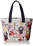 Kipling Damen Congratz Stoff-und Strandtasche, Mehrfarbig Eva, 44x30x0.1 cm