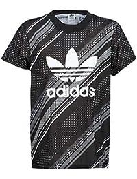 adidas Originals BF Trefoil Tee T-Shirt   Polo Donne Nero - IT 46 (EU 42) -  T-Shirt Maniche… 9963f73afcbe