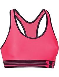 UNDER ARMOUR HeatGear Alpha Femmes Soutien-gorge Sport Rose