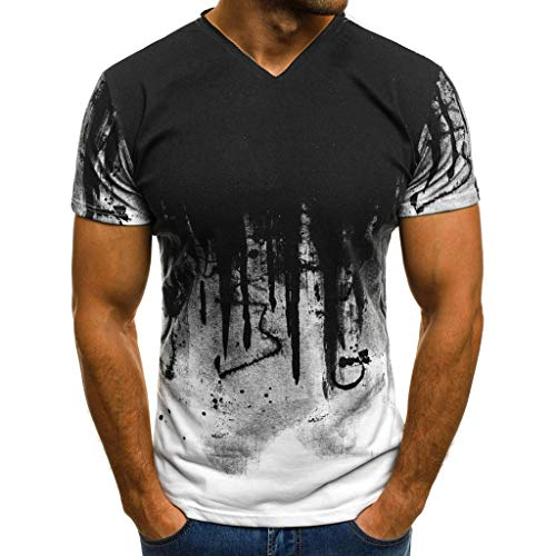 Hiking T-shirts Obedient Patchwork Design Quick Dry Breathable Hiking T-shirt Summer Outdoor Sportswear Men Climbing Fishing Tshirt