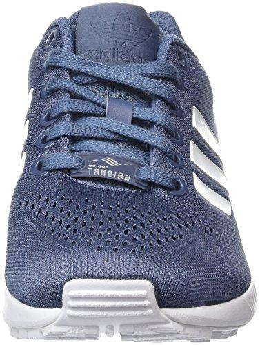 adidas Zx Flux Em, Baskets Basses Mixte Adulte Bleu (Tech Ink/Ftwr White/Tech Ink)