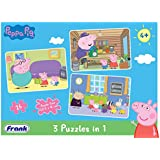 Frank Peppa Pig 3 In 1 Puzzle For 4 Year Old Kids And Above