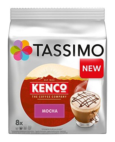 Get Tassimo Kenco Mocha Coffee Capsules, Pack of 5 - JDE