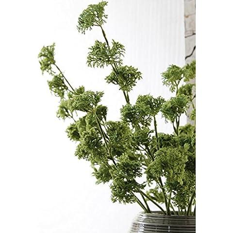 GWZ,Simulazione di aria ed erba, fiori di plastica, piante artificiali, fiori decorativi, decorazioni per la casa LINXIANBISHUIYIYUAN