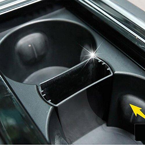 Auto Innen Aufbewahrungsbox Becherhalter Tablett Trim dekorativen Zubehör 1Stück