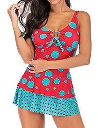 b0afe11a028a Amazon.es: bikinis rojos - 3XL / Mujer: Ropa