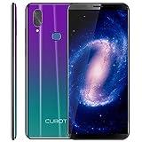 CUBOT X19 Smartphone 4G LTE Dual SIM, Télephone Portable débloqué Écran FHD 5,93 Pouces (18:9) 4000mAh Batterie Android 9.0, 4Go-64Go (Extensible à 128Go) Double Camera 16MP+2MP/ 8MP Identité faciale