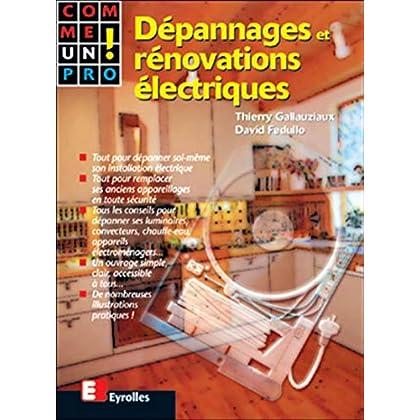 Dépannages et rénovations électriques