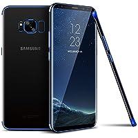 Funda Galaxy S9 Plus para Samsung Galaxy S9 Plus, SevenPanda Funda resistente a arañazos TPU Funda parachoques Funda de silicona suave Flex [Crystal Clear] Funda transparente para celular con carcasa ultrafina Funda ultra fina de silicona para teléfono TPU Funda transparente Funda para Samsung Galaxy S9 Plus - Azul