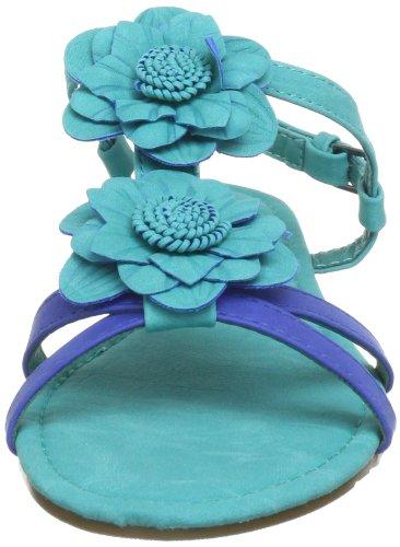 Xti Xti51709 Sp13, Sandales fille Turquoise (Turque X41)