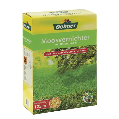 Dehner Moosvernichter und Rasendünger, 5 kg, für ca. 125 qm