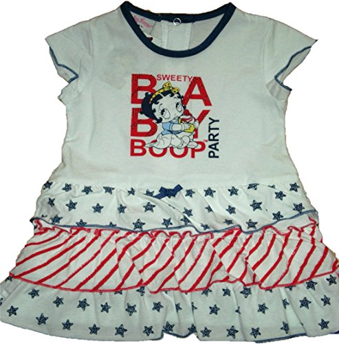 Vestito con gonna a balze Betty Boop (12 mesi)