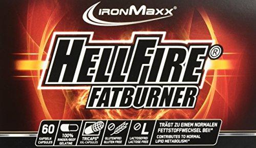 #IronMaxx Hellfire Fatburner Box, 60 Kapseln#