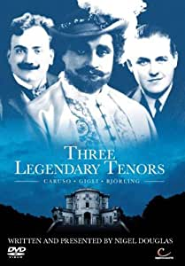 Three Legendary Tenors [DVD]