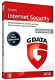G Data Internet Security (2018) | Antivirus Software | Upgrade für 3 Windows-PC | 1 Jahr