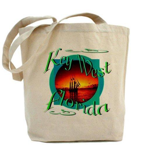 CafePress Key West Florida Tote Bag - Standard Multi-color by CafePress