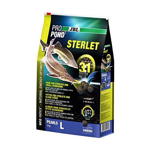JBL 4128500 Futter Sterlets und Kleine Störe, Sinkende Futterperlen, Spezialfutter, ProPon Preisvergleich