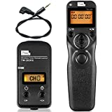 PIXEL S1 LCD 2.4GHz Wired or Wireless Timer Remote Control for Sony A560