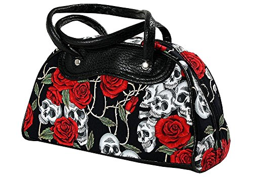 top-fuel-tasche-black-roses-handtasche-rockabilly-oldschool-gross-ii