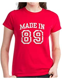 CafePress - Made In 89 - Womens Cotton T-Shirt