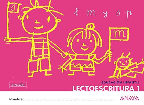 Lectoescritura 1. Pauta. - 9788467815658 por Anaya Educación