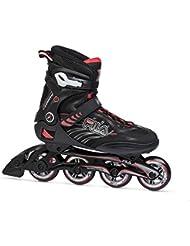 Fila Hombre Shadow 80 Inline Skate, hombre, SHADOW 80, blanco / rojo, 9