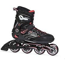 Fila Hombre Shadow 80Inline Skate, hombre, SHADOW 80, blanco / rojo