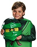 "Lego Costume, Kids Ninjago Lloyd Deluxe Outfit, Small, Age 4 - 6 years, HEIGHT 4' 0"" - 4' 1 1/2"""