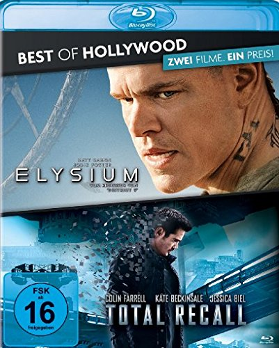Elysium/Total Recall (2012) - Best of Hollywood/2 Movie Collector's Pack 96 [Blu-ray]