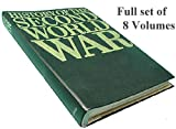 Purnell's History of the Second World War - Vol's 1-8 (Complete Partwork 8 Volume Set)