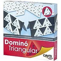 Cayro Dominó triangular con 56 piezas (710)