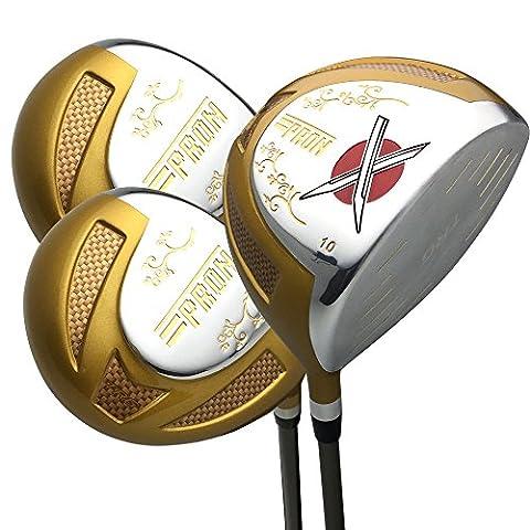 Japon Epron TRG Titanium Driver et bois de parcours rangées PGA règles Club de golf Couvre-fer Lot +, Trg