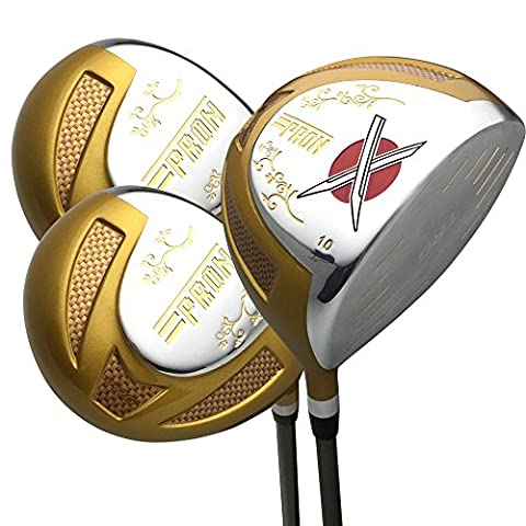 Japan epron TRG Titan Driver und Fairway USGA PGA Rules Golf Club Set + Schlägerhaube, Trg (Titan Golf Clubs)