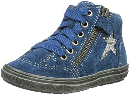Richter Mädchen Halbschuhe, Stiefel fuchsia/silver, 470558-43 Bleu - Blau (ink/silver   6811)