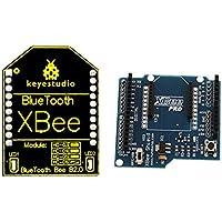 Baoblaze Módulo inalámbrico Bluetooth HC-06 +Módulo de V03 Compatible con escudo XBEE y adecuado para varios sistemas de 3.3V MCU