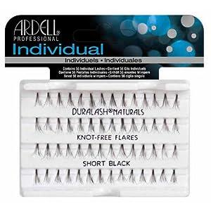 Ardell Individual Natural Lashes Knot Free - Short Black 56 Individual Lashes