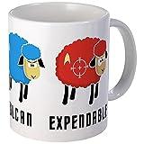 CafePress–Star Trek Schaf–Tasse, keramik, weiß, Mega