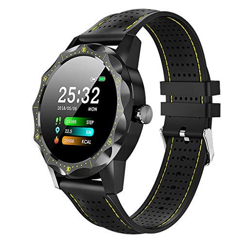 Laile Fashion Smartwatches IP68 wasserdichte Herzfrequenz Blutdruck Aktivität Fitness Tracker Vielseitig Specialty Premium Watch Wasserdicht Modische Runde Zifferblat