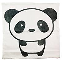 18 X 18 Inch Cute Panda Pillowcase Cotton Linen Flax Sofa Cushion Case Car Home Decorative Pillowslip Pillow Case