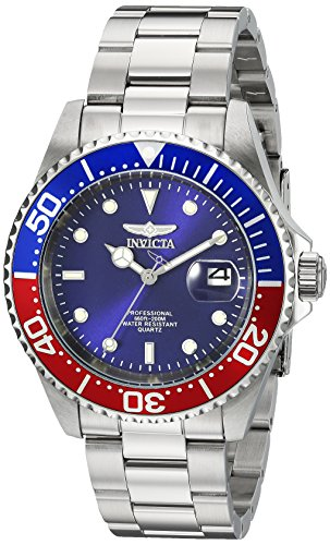 Invicta 24946 Pro Diver  Unisex Wrist Watch Stainless Steel Quartz Blue Dial