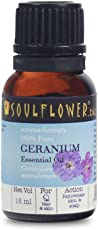 Soulflower Essential Oil Geranium