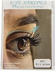 Schlupflid EYE STRIPES Augenlid-Tape (96 Stück) versch. Größen - Augenlifting ohne OP - für schöne offene Augen - Schönheitshelfer für hängende Augenlider