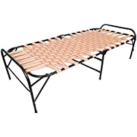 Story@Home Single Size Folding Bed (Brown)