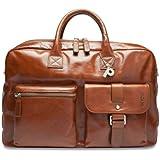 Picard Buddy 4732 cognac , Herren Leder Reisetasche Aktentasche Businesstasche Tasche Ledertasche