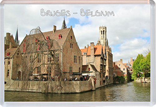 Bruges - Belgium - Jumbo Fridge Magnet - Brand New Gift/Present/Souvenir