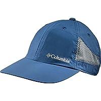 Columbia Tech Shade Gorra, Unisex, Azul (Carbon), Talla única