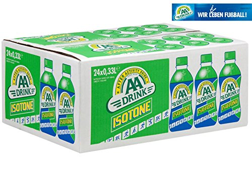 AA Drink Isotone 24x33cl isotonisches Sportgetränk (inkl. 6.-€ Pfand: 19,99 + 6,00€)