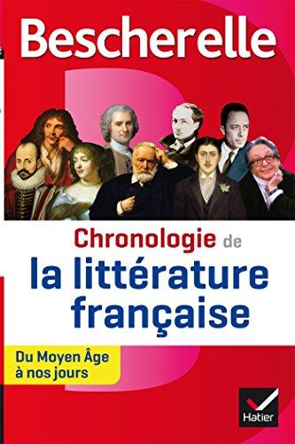 Bescherelle Chronologie de la littérature française: du Moyen Âge à nos jours (Bescherelle culture) por Laurence Rauline