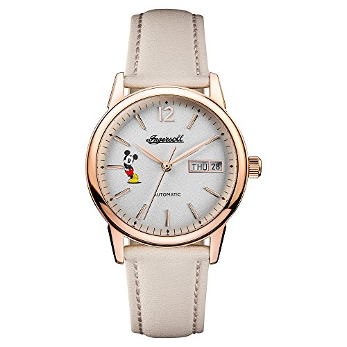 Ingersoll Disney Women's The New Haven Union Quartz Watch with Dial and Other Leather Strap ID01102